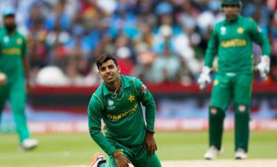 Shadab Khan fined for verbal abuse