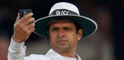 Aleem Dar makes a history in international cricket