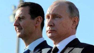 Macron urges Putin to bring his influence to bear in Syria