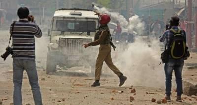 Massive protests held in occupied Kashmir