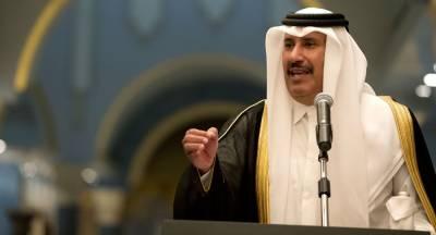 Qatari Prince Hamad Bin Jasim too speaks for rights of Israel