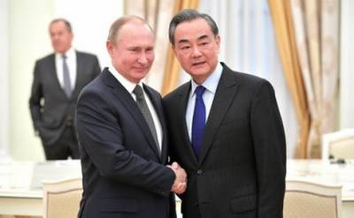 Russian president meets with Chinese foreign minister