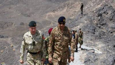UK Military Chief is impressed with Pakistan's success in war against terrorism