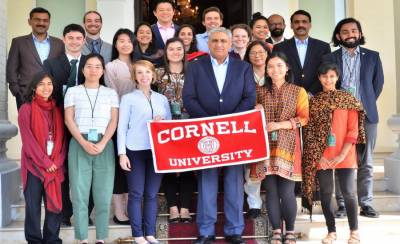 US Cornell University student group meets COAS General Bajwa