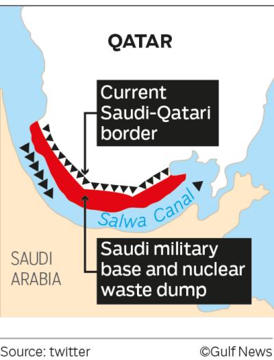 Saudi Arabia to turn Qatar into an Island