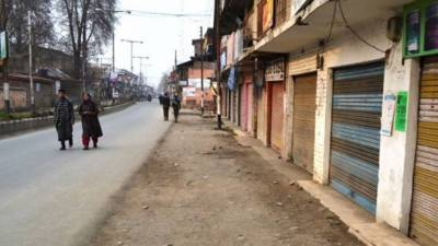 Shut down in occupied Kashmir against killings of civilians