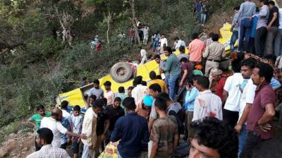 India: 27 children die when school bus plunges into gorge