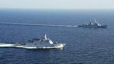 Pakistan Turkey joint naval drills in Arabian Sea
