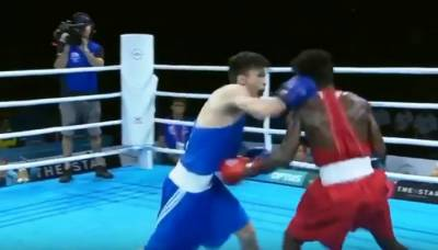 Pakistani Boxer Mohammad Asif beat rival in Commonwealth games