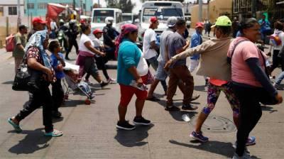 Some 200 migrants in Mexico caravan to seek US asylum