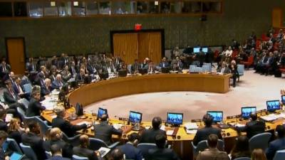 US Russia clash in UN Security Council
