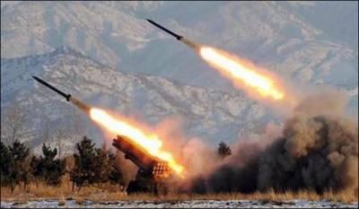 Ballistic missile fired over Riyadh, three blasts heard