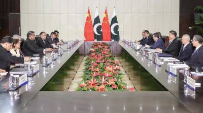 Chinese President expresses full support for Pakistan's sovereignty, territorial integrity