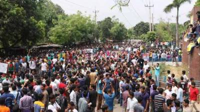 Massive protests erupt across entire Bangladesh
