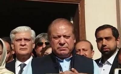 Nawaz Sharif complains of NAB pressure on candidates