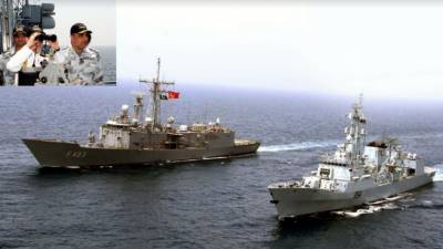 Pak-Turkey joint naval exercise concludes in Karachi