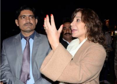 Tehmina Durrani responds to the revelations made by her former Secretary