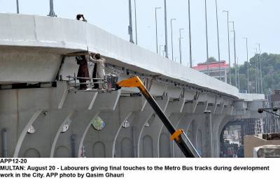 All 27 Bogeys for Orange Line Metro Train project reach Lahore