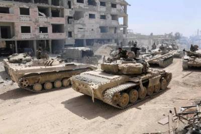 Syrian govt forces gain full control of eastern Ghouta