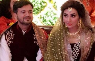 Actress Aisha Khan marries to the most celebrated Military officer