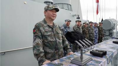 Chinese Military held largest ever Naval War games in South China Sea