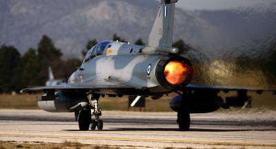Mirage 2000 - 5 crashes into Aegean sea