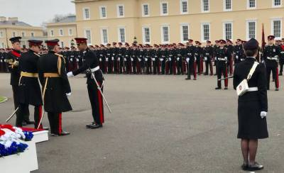 Pakistan Army trainee officer clinches international Medal at Royal Military Academy UK