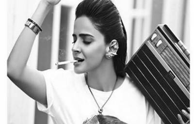 Saba Qamar challenges women smoking stigma in Pakistan