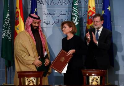 Saudi Arabia signs pact with Spain over delivery of Naval Warships worth $2.2 billion