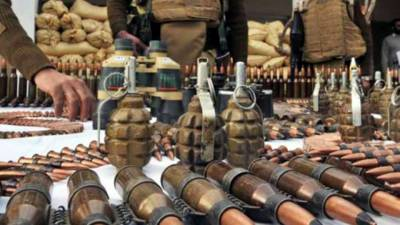 Security forces seize huge quantity of arms, ammunition in Lower Dir