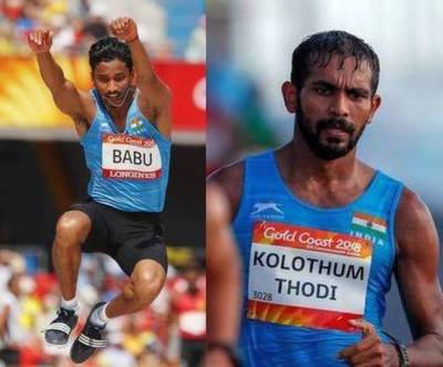 Two Indian athletes disqualified from Commonwealth Games 2018