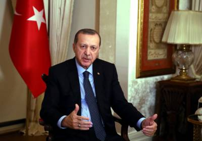 Erdogan welcomes Syria strikes against Assad regime