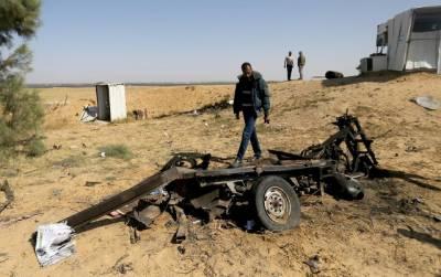 Four Palestinians dead in Gaza blast
