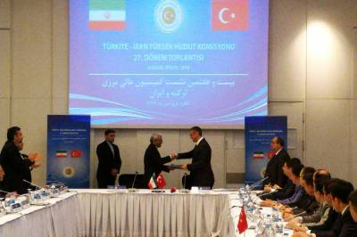 Iran Turkey seal key border agreement