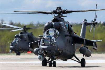 Russia delivers advanced combat helicopters to Pakistan Army