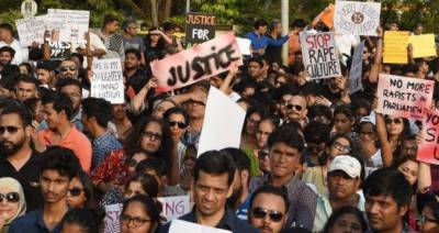 Thousands protest in Indian cities against violence on women