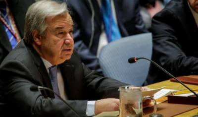U.N. chief urges restraint, avoid escalation in Syria
