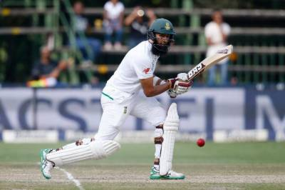 Amla and Cartwright out for 30s on rainswept first day of Championship