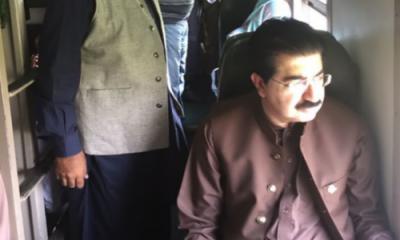 Chairman Senate lauds performance of Pakistan Railways