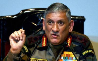 Indian Army cannot achieve goal through guns in Kashmir: Army Chief