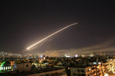 US & Allies launch strikes on Syria