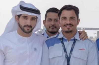 Dubai crown prince declares Pakistani rider as best captain in Dubai