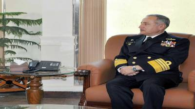 Naval Chief, Chinese counterpart discuss regional security