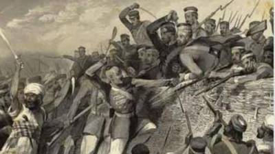 UK historian want skull of Indian soldier killed in 1857 revolt to be buried near River Ravi at Pakistan border