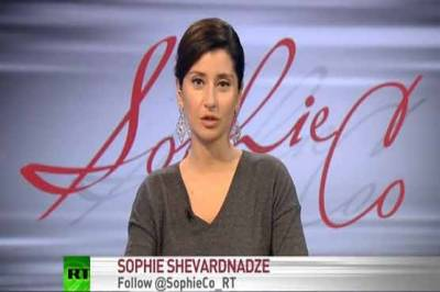 (VIDEO): Sophie Shevardnadze, Russian anchor stunned by her popularity after Imran Khan interview video went viral
