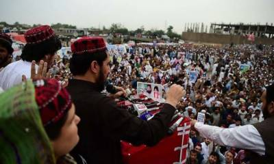 Manzoor Pashteen barred from entry in mother institute across country