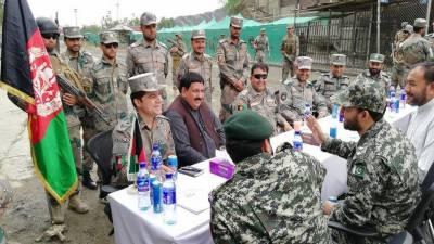 Pakistan Afghanistan militaries held flag meeting at Torkham border