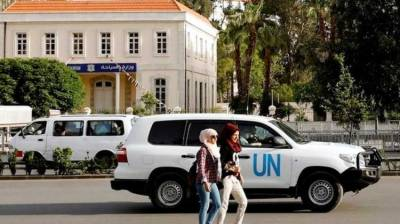 UN team fired on in Syria while visiting suspected chemical sites