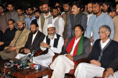 JI Chief Siraj ul Huq levels serious allegations against PTI