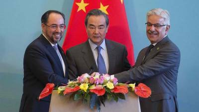 Pakistan China and Afghan Foreign Ministers to meet in Kabul